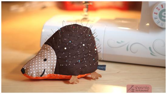 Produktfoto für Schnittmuster Nadelkissen Igelix von shesmile