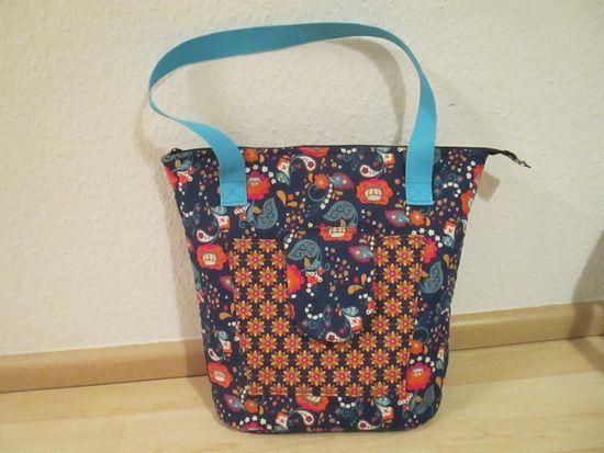 Foto zu Schnittmuster Shopping Bag Ela von Be pretty by Beate