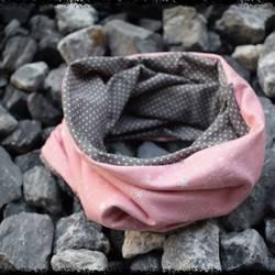 Loop rosa sterne graurosa punkte siw ellie