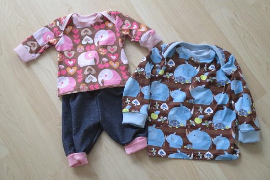 Produktfoto für Schnittmuster Babyshirt von klimperklein