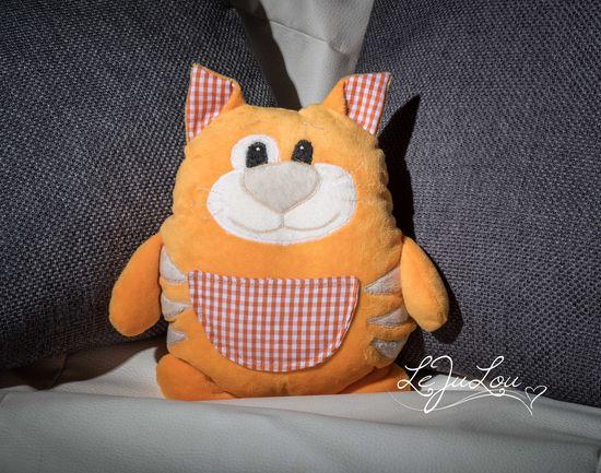 Foto zu Schnittmuster Katze Lacky von kullaloo
