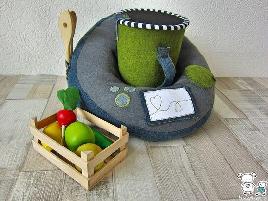 """Produktfoto für Schnittmuster Küchenmaschine """"Eins Zwei Brei"""" von shesmile"""