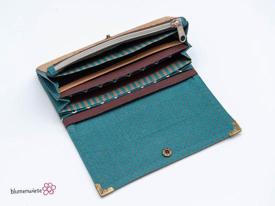 Produktfoto für Schnittmuster Geldbörsen-MixPack Ruby + Onyx von Hansedelli