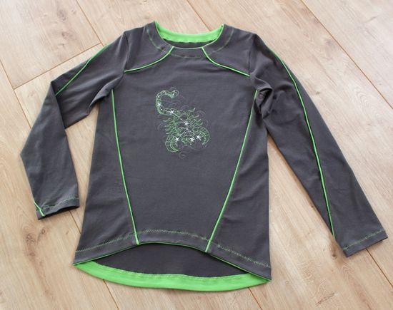Produktfoto für Schnittmuster Shirt Peer von Piechen'S