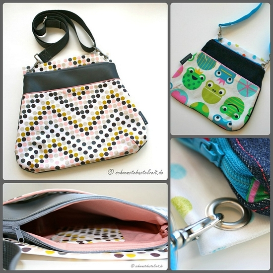 Produktfoto für Schnittmuster Tasche Malu von Keko-Kreativ