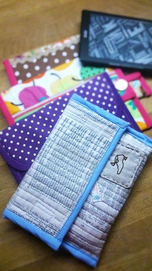 Foto zu Schnittmuster E-Reader-Tasche Flossie von SewSimple