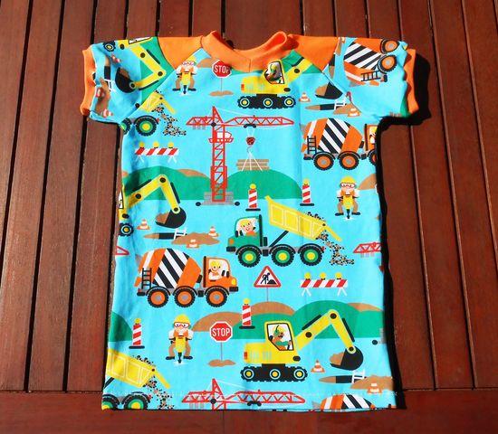 Schnittmuster Raglan Shirt Benta von lolletroll als e-book für Babies, Jungen, Mädchen in Kategorie Oberteil (62–170)