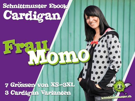 Produktfoto für Schnittmuster Frau Momo von Knuddelmonster