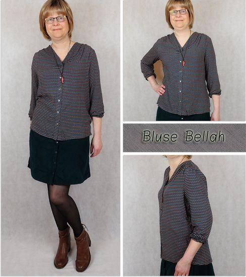 Produktfoto für Schnittmuster Bluse bellah von Prülla