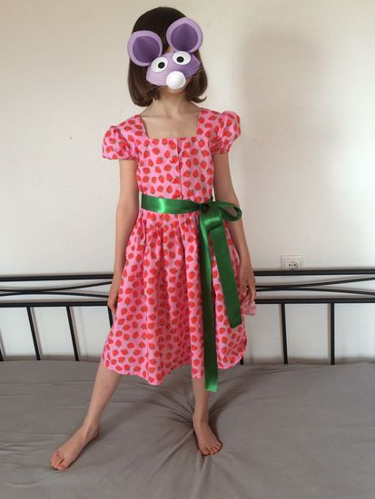 Schnittmuster Emily von pattydoo als e-book für Mädchen in Kategorie Kleid (92–128)