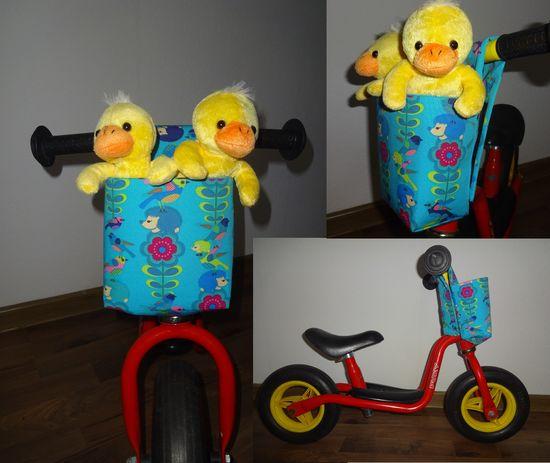 Foto zu Schnittmuster Lenker-Fahrradkorb fürs Laufrad von Erbsenprinzessin
