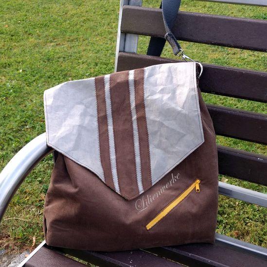 Schnittmuster Herrentasche Bjarne von Frau Fadenschein als e-book für Herren in Kategorie Taschen