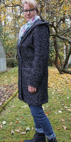 Schnittmuster 6987 Mantel von Burda als Papierschnitt für Damen in Kategorie Jacke