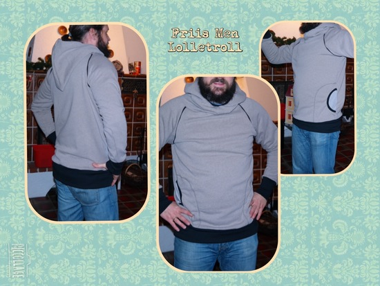 "Foto zu Schnittmuster Retrohoodie ""Big"" Friis for Men von lolletroll"