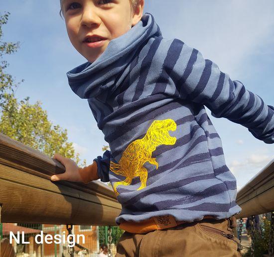 Produktfoto für Schnittmuster Rollkragen-Pulli Laveo von Bunte Nähigkeiten