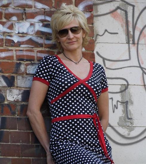 Foto zu Schnittmuster Kreuzkleid von Schnabelina