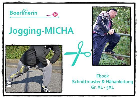 Produktfoto für Schnittmuster Jogginghose Micha von Boerlinerin