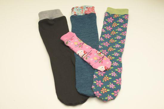 Schnittmuster Socken Größe 35-46 von andereseite als e-book für Jungen, Mädchen, Damen, Herren in Kategorie Sonstiges