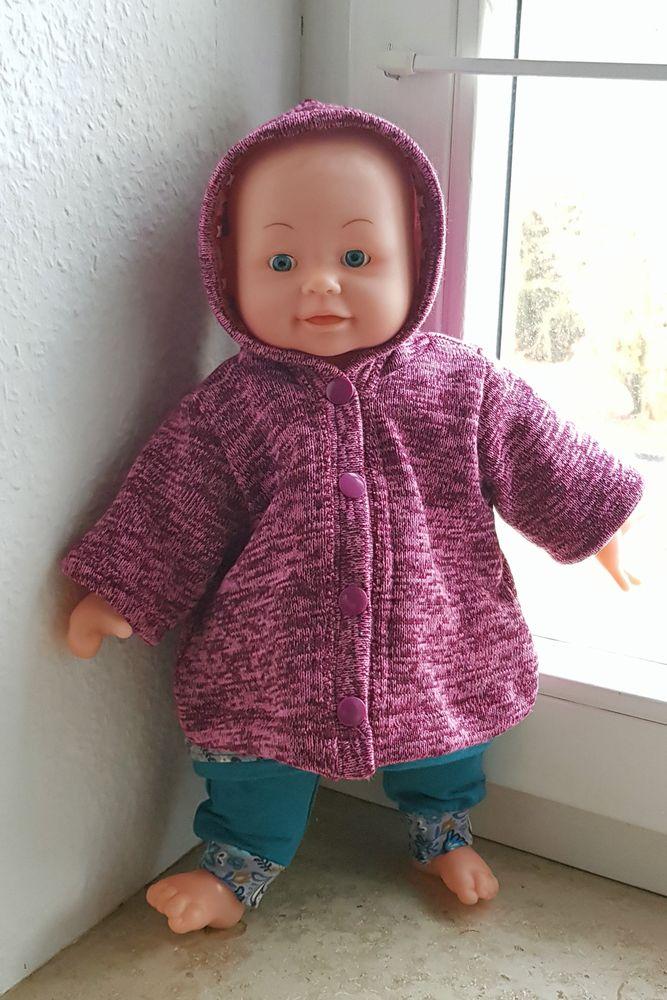 Foto zu Schnittmuster Puppenmantel von Hummelhonig