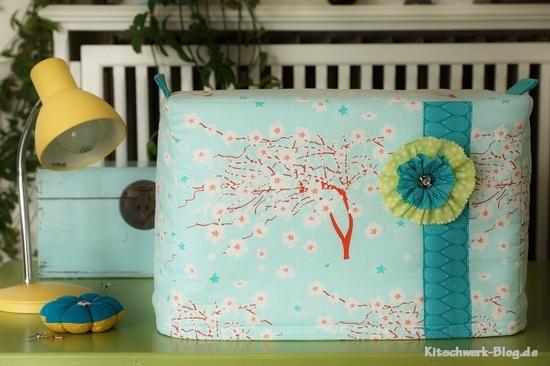 Foto zu Schnittmuster Nähmaschinenhülle von Kitschwerk