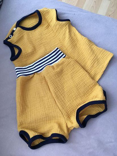 Schnittmuster #1 Little Mermaid von Ottobre Design als Papierschnitt für Babies, Mädchen in den Kategorien Hose, Oberteil (62–92)