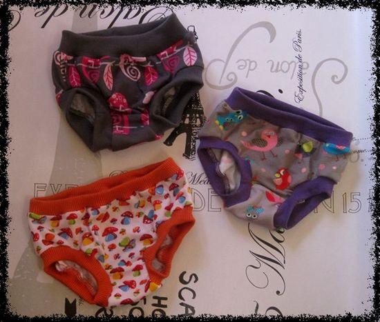 Produktfoto für Schnittmuster Drunter girls von Erbsenprinzessin