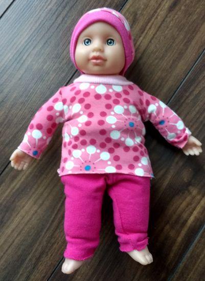 Produktfoto für Schnittmuster Dress up your Baby Doll von Zwergnase-Design