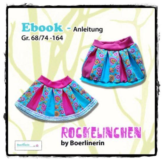 Produktfoto für Schnittmuster Rockelinchen von Boerlinerin