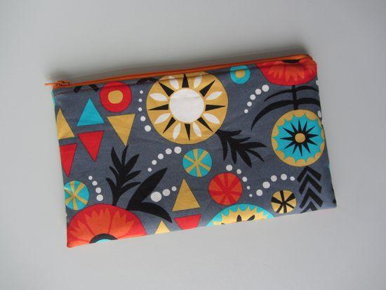Produktfoto für Schnittmuster Perfekte Reißverschlusstasche von stoffbreite