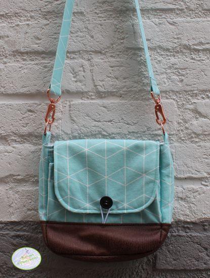 Produktfoto für Schnittmuster Handtasche Ulla von shesmile