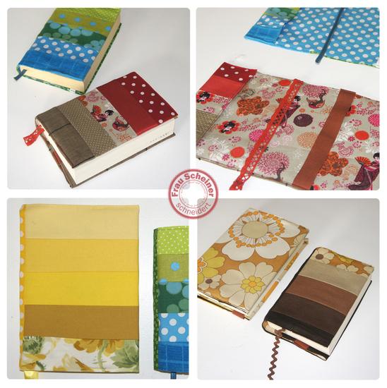 Produktfoto für Schnittmuster Buchhülle und Buchcover von Frau Scheiner