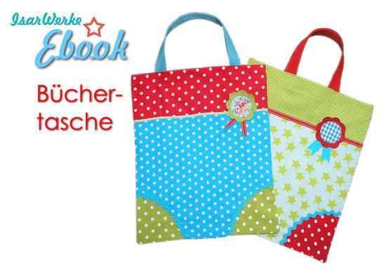 Foto zu Schnittmuster Büchertasche von IsarWerke