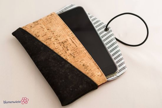 Produktfoto für Schnittmuster Smartphonetasche Kuori von Hansedelli