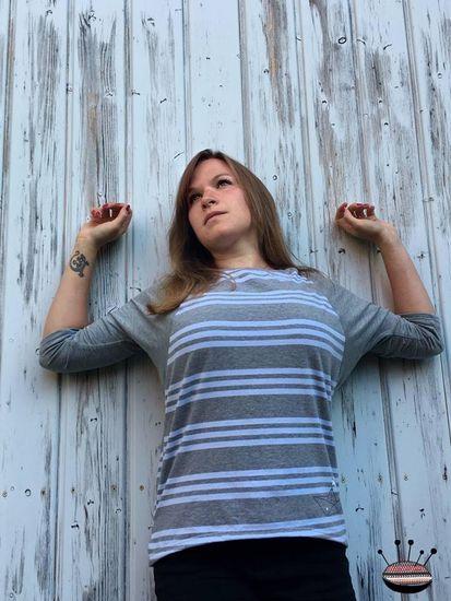 Produktfoto für Schnittmuster Fledermausshirt MissFlügelchen von Nähcram