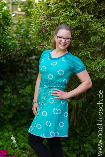 Schnittmuster Toni von Das Milchmonster als e-book, Papierschnitt für Damen in Kategorie Kleid