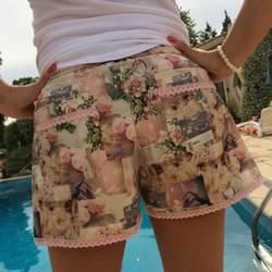 Foto zu Schnittmuster Damenshorts Ibiza von Pech & Schwefel