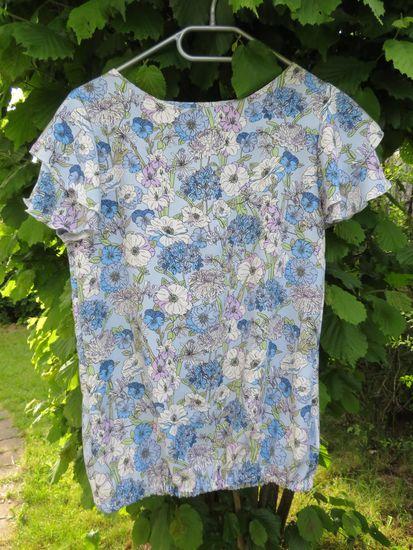Produktfoto für Schnittmuster Bluse/Shirt Madrid von Die wilde Matrossel