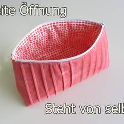 Foto zu Schnittmuster Falten-Kosmetiktasche von stoffbreite