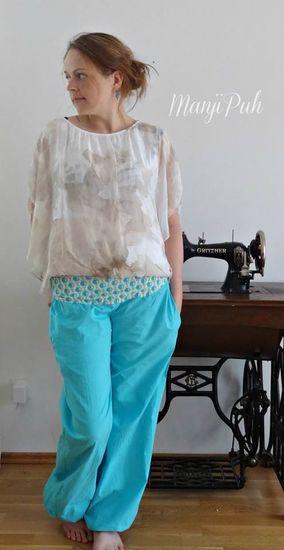 Schnittmuster PUHmphose von ManjiPuh als e-book für Damen in Kategorie Hose