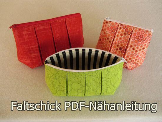 Produktfoto für Schnittmuster Faltschick von stoffbreite