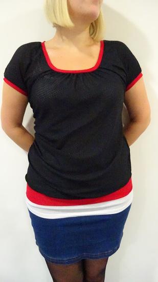 Produktfoto für Schnittmuster Faltenshirt Melli von selbermacher123
