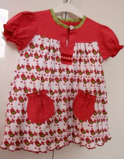 Foto zu Schnittmuster #12 Raspberry Stripes von Ottobre Design