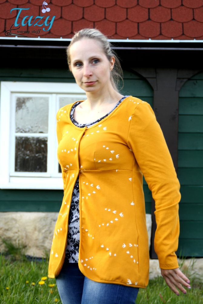 Foto zu Schnittmuster AnniNanni Bolerojäckchen von Anni Nanni