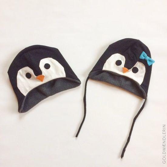 Foto zu Schnittmuster Pinguinmütze von my Fancywork