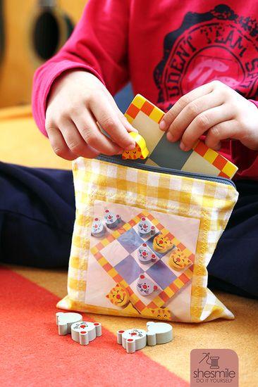 Foto zu Schnittmuster Spielebeutel Zipverpackt von shesmile