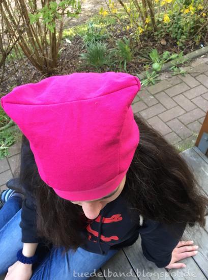 Foto zu Schnittmuster Pussy Hat von Erbsenprinzessin