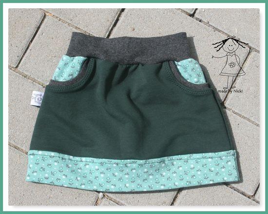 Foto für Schnittmuster Little Sweat Skirt von Lin-Kim