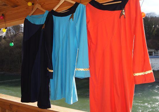 Star trek uniform kleider uhura stil