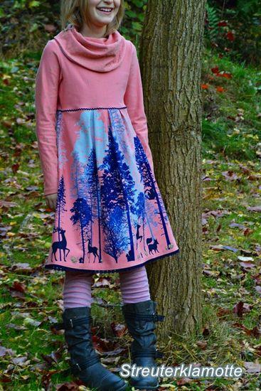 Schnittmuster lillesol basics No. 39 Kleid mit Rollkragen von Lillesol
