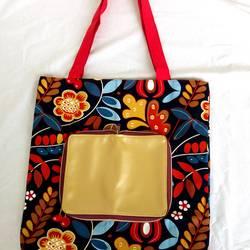 Foto zu Schnittmuster Einkaufsbeutel Calliope von Tina Blogsberg